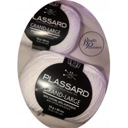 Coton à mécher blanc Plassard